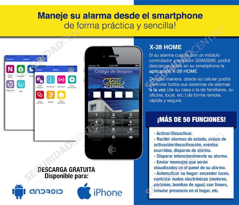 Kit alarma full casa x28 inal mbrica controlador celular sms 16049 eng4o precio d argentina - Alarmas para casa precios ...